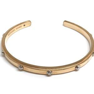 Michael Kors Rose Gold Stud Cuff Bracelet